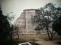 Uxmal Pyramid of the Magician (9785362785).jpg