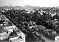 Városmajor, előtérben a Fogaskerekű végállomása, 1966 Budapest - Fortepan 103853.jpg