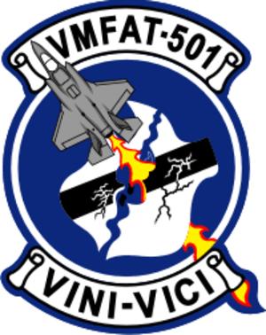 VMFAT-501 - VMFAT-501 insignia