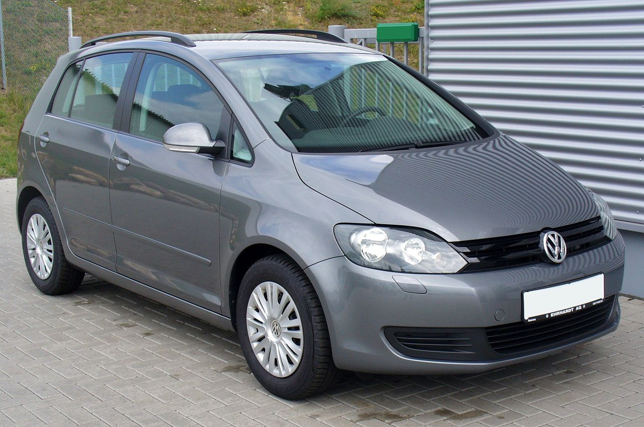 file vw golf plus 1 4 trendline united grey jpg wikimedia commons. Black Bedroom Furniture Sets. Home Design Ideas
