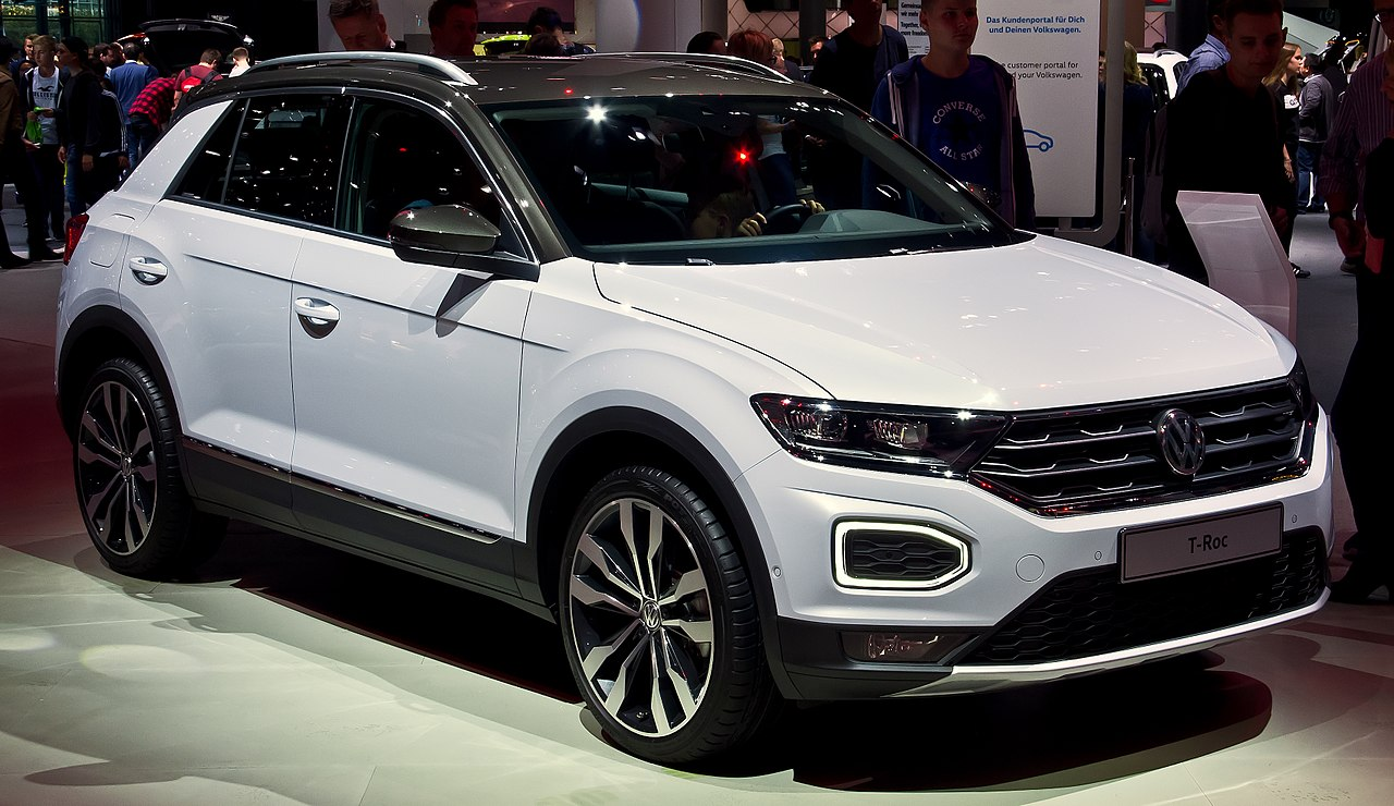 file vw t roc 2 0 tdi 4motion style frontansicht 23 september 2017 wikipedia. Black Bedroom Furniture Sets. Home Design Ideas