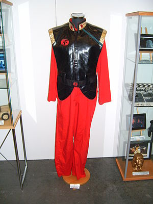 V (1984 TV series) - A uniform from the TV show at Stockholm International Fairs 2011.