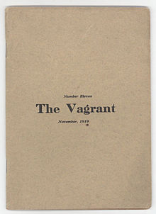 essays about vagrancy Vagrancy in the park the essence of wallace stevens: roses, roses fable and dream the pilgrim sun by susan howe october 15, 2015 fb tw mail print roaming march someone has walked across the snow, someone looking for he knows not what this essay will appear in the quarry.