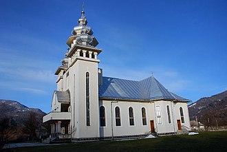 Bistra, Maramureș - Orthodox Church in Valea Vișeului