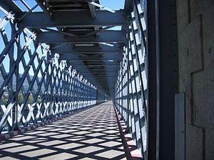 Valença, Portugal - The old international bridge