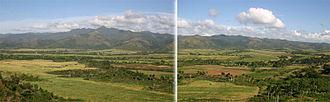Escambray Mountains - Image: Valleysugar