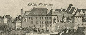 Kieselstein Castle - Kieselstein Castle in a 1679 engraving by Valvasor