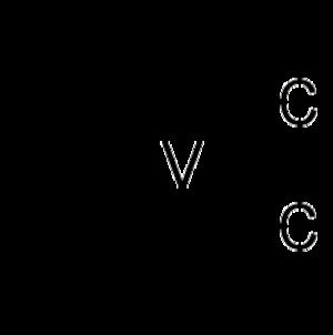 Vanadocene dichloride - Image: Vanadocene dichloride