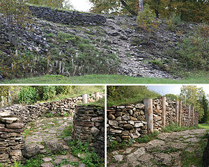 Architecture of Estonia - Ruins of Varbola Stronghold.