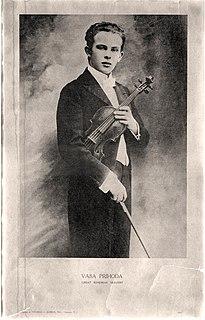 Váša Příhoda Czech violinist