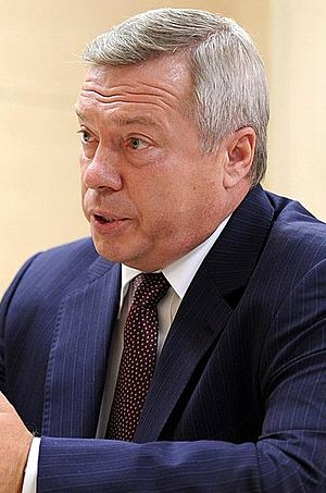Governor of Moscow Oblast - Image: Vasily Golubev, 2013