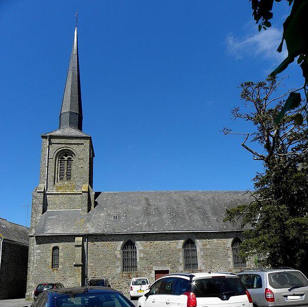 Église Saint-Aubin de Vautorte (53).