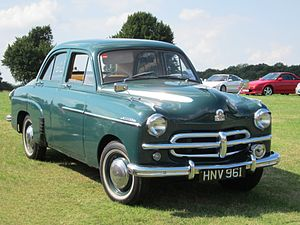 Vauxhall Wyvern - Vauxhall Wyvern EIX (1952)