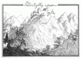 Veduta di Sighlberg in Croatia 1639 Giovanni Pieroni.png