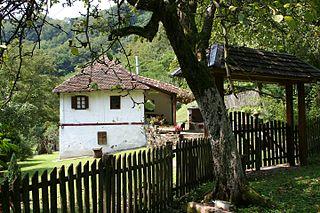 Velika Reka Village in Serbia