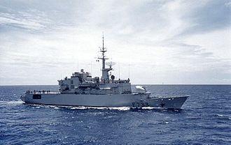 French frigate Ventôse - Frigate Ventôse