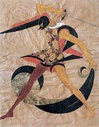 Vera Mukhina A man with a sword (1916).jpg