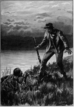 Verne - Les Naufragés du Jonathan, Hetzel, 1909, Ill. page 384