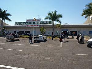 Victoria Falls Airport - Image: Victoria Falls Airport arrivals