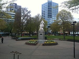 Victoria Square, Christchurch - Image: Victoria Square, 2009