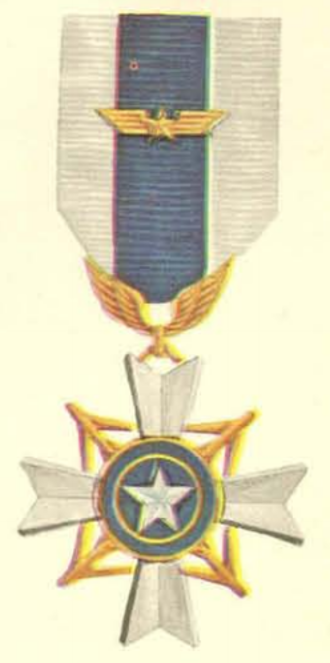 Air Gallantry Cross - Air Gallantry Cross with Gold Wing