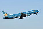 Vietnam Airlines, Boeing 777-26K(ER), VN-A144 - CDG (18366889478).jpg