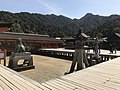 View from stage of Itsukushima Shrine.jpg