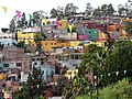 View of Hillside Dwellings from San Javier Neighborhood - Guanajuato - Mexico (27342544839).jpg