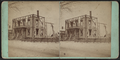 View of a house standing as empty shell, by William Allderige.png