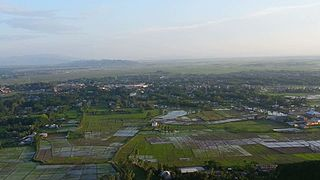 Thoubal Town in Manipur, India