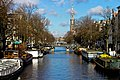 View on the canals and Westerkerk - Amsterdam.jpg