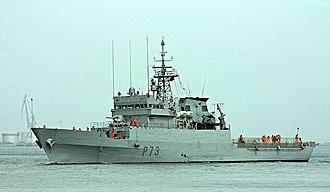 Serviola-class patrol boat - Image: Vigia P73