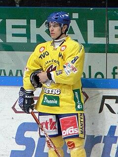 Mika Viinanen Finnish ice hockey player