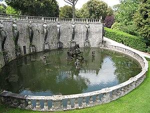 Villa Lante - Pegasus fountain at Villa Lante