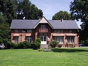 """École nationale d'ingénieurs de Tarbes - The ENIT """"Villa""""."""