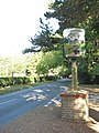 Village sign at junction of Fox Road and The Street - geograph.org.uk - 1501378.jpg