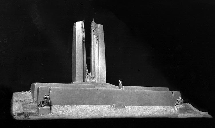 Vimy Memorial - Design model