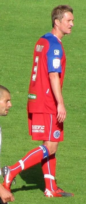 Jamie Vincent - Vincent in action for Aldershot against Port Vale at Vale Park