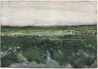 Landscape with Wheelbarrow (1958.30)