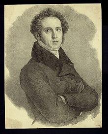 Portrait of Vincenzo Bellini, composer (1801-1835), before 1862. (Source: Wikimedia)