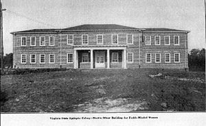 Virginia Sterilization Act of 1924 - Image: Virginia State Colony for Epileptics and Feebleminded