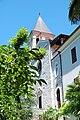 Visovac monastery church tower.JPG