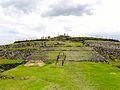 Vista Frontal de Pirámide de Cuicuilco.jpg