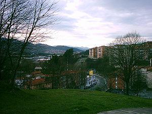 Galdakao - Image: Vistagaldacano