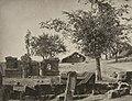 Vitcher Nag, Srinagar Kashmir ruins of Hindu temple, converted into a Muslim graveyard, 1868 photo.jpg