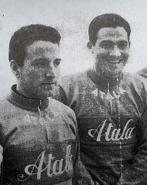 Atala (cycling team) - Image: Vito Taccone and Giovanni Cordovani