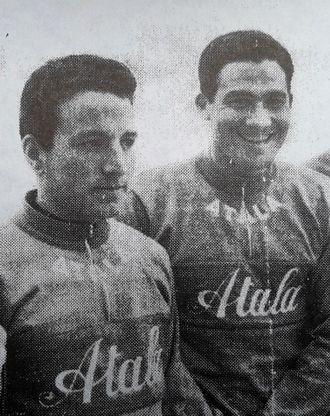 Atala (cycling team) - Image: Vito Taccone and Giovanni Cordovani