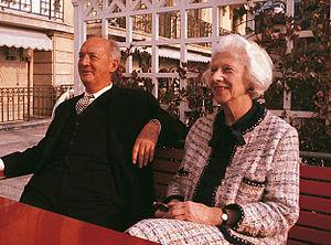 Véra Nabokov - Véra and Vladimir Nabokov, Montreux, 1969