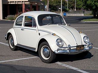 Rear-engine, rear-wheel-drive layout - Image: Volkswagen Beetle 001