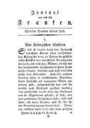 Von Koburgischen Künstlern, S. 257-281